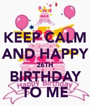 Birthday Resolutions & Realizations