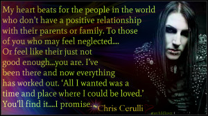 Motionless in White Chris Motionless Cerulli (quote)