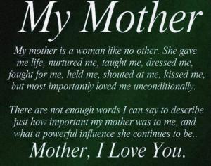 RIP Mom
