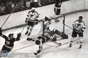 Bobby Orr The Goal Bobby orr 1969-70 boston