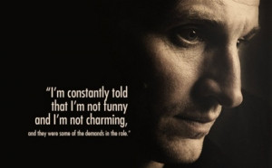 Christopher Eccleston Doctor Who Quotes