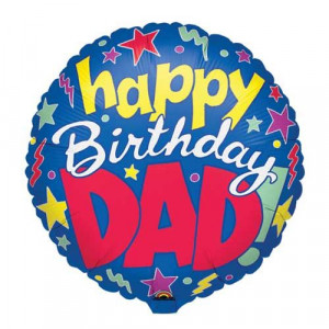 Birthday Balloons - Happy Birthday Dad