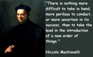 Niccolo machiavelli famous quotes 5