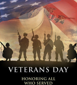 Veterans Day Honoring Who Served