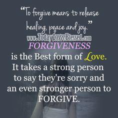 Forgiveness Quotes ♥