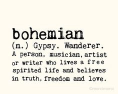 Bohemian Quotes