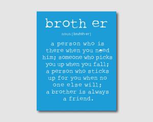 Older brother ...