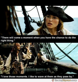 Captain Jack Sparrow movie quote. | Funny Pictures, Quotes, Photos ...