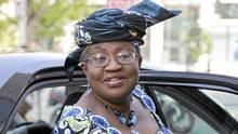 World Bank presidential nominee Ngozi Okonjo-Iweala of Nigeria was ...