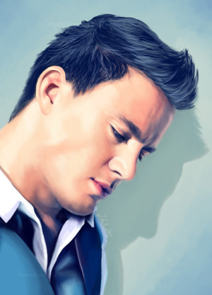 channing tatum by tomsgg watch fan art digital art drawings movies tv ...