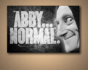 Igor Young Frankenstein Abby Normal