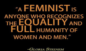 Katie Ellison explains the difference between being an actual feminist ...