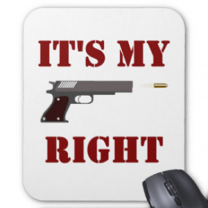 related pictures pro gun quotes mouse pads
