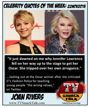 Celebrity Quotes of the Week 22NOV2013 2