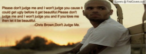 Chris Brown Quote Profile Facebook Covers