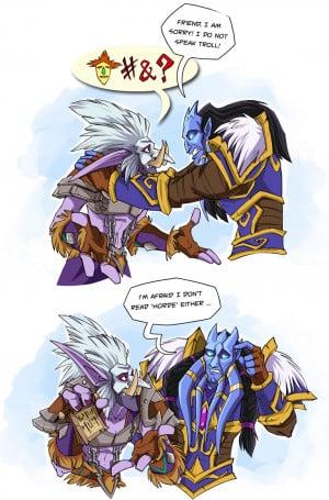 trolls wow world of warcraft draenei just felt like sharing because ...