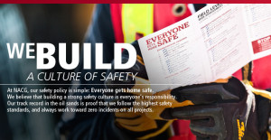 Construction Safety Quotes We build a culture of safety
