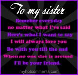 Sister Quotes Graphics | Sister Quotes Pictures | Sister Quotes Photos