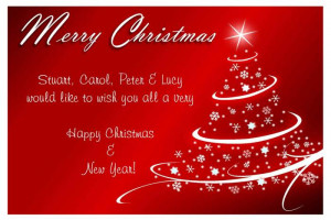 Card Sayings Quotes Business ~ christmas card sayings business ...