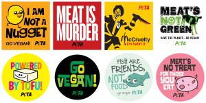 Vegetarian Sticker Sheet