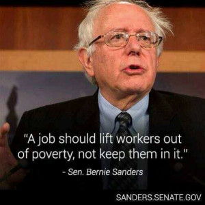 Sen. Bernie Sanders A $15 minimum wage is possible. All it would ...