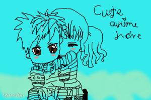 cute anime drawings of love cute anime drawings of love anime couples ...