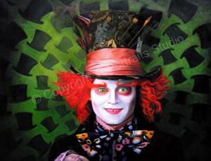 details about mad hatter johnny depp alice in wonderland original