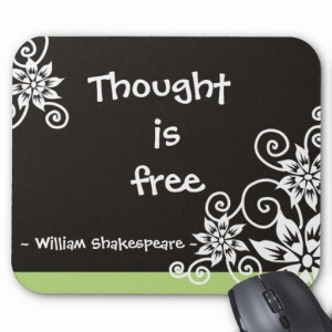 famous_3_word_quotes_william_shakespeare_quote_mousepad ...
