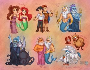 The Little Mermaid Little Mermaid vs Hercules