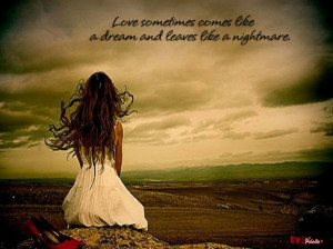 ... Sad Love In Life: Quote About Sad Love And The Girl With Hope In Her