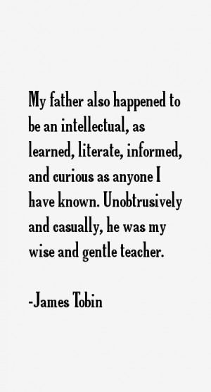 James Tobin Quotes & Sayings