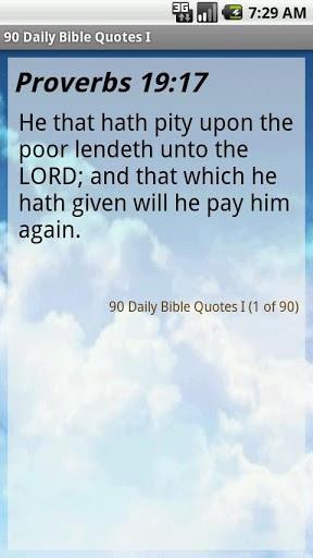 Ver maior - captura de tela 90 Daily Bible Quotes I para Android