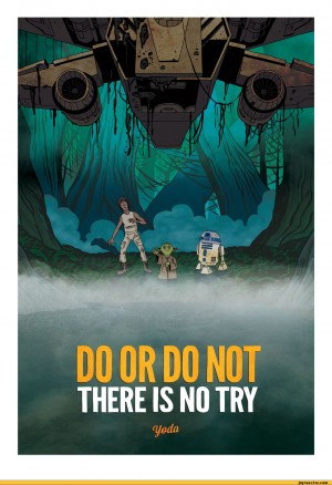 ... ,funny comics & strips, cartoons,Star Wars,zen pencils,yoda,quote
