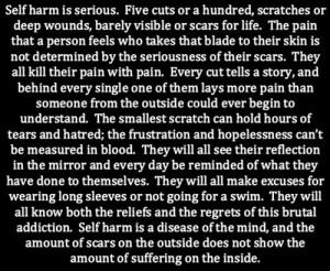 self harm cutting scars self harm scars