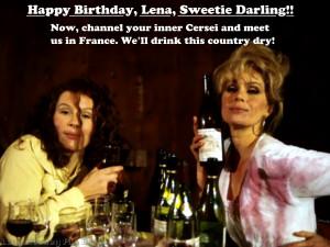 Have a Absolutely Fabulous birthday, Lena Headey!!!