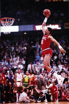 ... vintage basketball julius erving sports legends basketball usa dunks