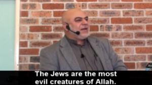 Australian Muslim Leader Calls Jews 'Evil Creatures'