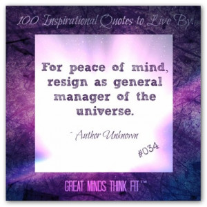 Peace of Mind Quote #034
