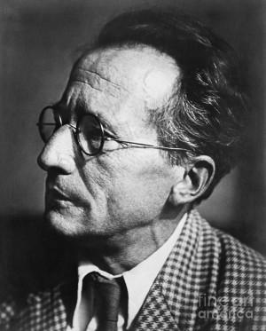 Erwin Schrodinger, Austrian Physicist Photograph