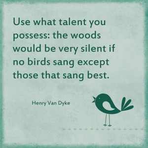 Henry Van Dyke quote