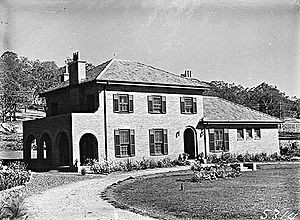 The Garran family house in Canberra, 22 Mugga Way, Red Hill .