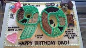 90th birthday cake: 90Th Birthday Cake, 90 Birthday, Birthday Ideas ...