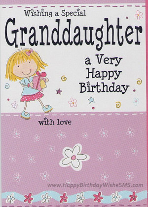 Birthday wishes for granddaughter – Happy Birthday Quotes to ...