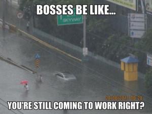 funny pictures bosses be like rain wanna joke.com