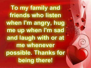 To my family and friends.. thank you..
