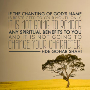 Quote of the Day: If the Chanting of God's Name...
