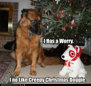 Christmas doggies for you to love