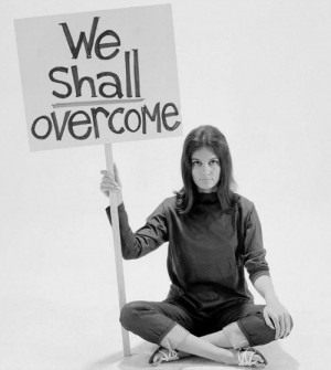 Gloria Steinem, the voice and face of feminism through the 60s and 70s ...