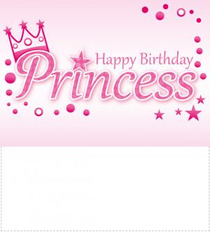 Happy Birthday Disney Princess