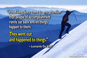 "Inspirational Quote: ""It had long since come to my attention that ..."